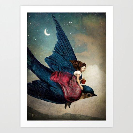 Fairytale Night Art Print