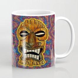 Angry god Tiki Coffee Mug