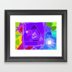 Colour Makes Me Happy! Framed Art Print
