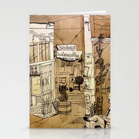 bauhaus Stationery Cards featuring Bauhaus by Mike Oncley