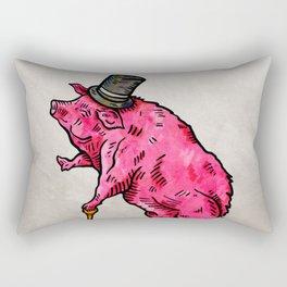 A classic pork Rectangular Pillow