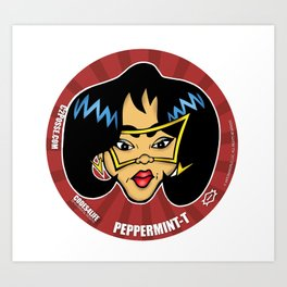 Peppermint-T... The Information Specialist for C2 & Posse Art Print