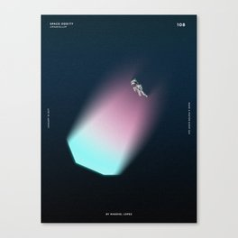 108 - Space Oddity Canvas Print