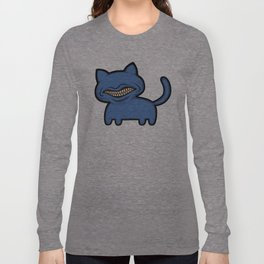 toothcat (blu) Long Sleeve T-shirt