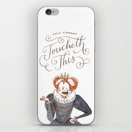 Thou Cannot Toucheth This iPhone Skin