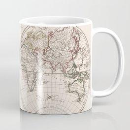 Vintage Map of The World (1804) Coffee Mug