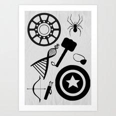The Avengers Extended Art Print