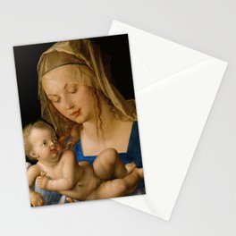 Virgin with the Pear by Albrecht Durer Stationery Cards