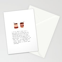 Holidays are Hard Card Stationery Cards
