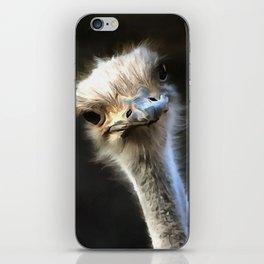 Ostrich Head iPhone Skin