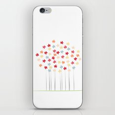 Delicate Blooms iPhone & iPod Skin