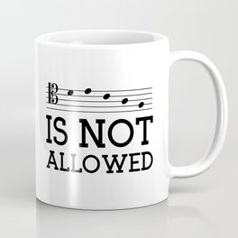 Decaf is not allowed (tenor version) Coffee Mug