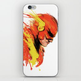 Fastest man  iPhone Skin