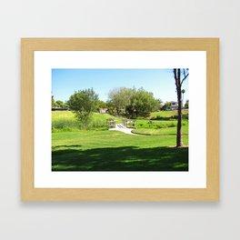 Bella Vista Open Space 2516 Framed Art Print