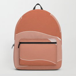 Coral Petals Backpack