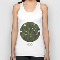 Daisy Days Unisex Tank Top