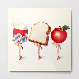 Lunch Ladies Pin-Ups Metal Print