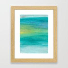 Ocean Series, 4 Framed Art Print