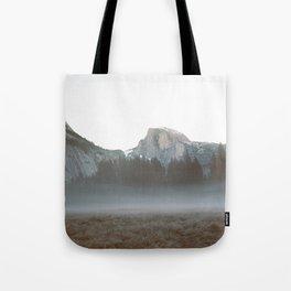 Morning Mist, Yosemite Tote Bag
