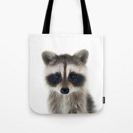 Baby Racoon Tote Bag