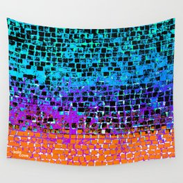 Sunset Pavement Wall Tapestry