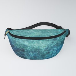 Turquoise Ocean Marble Fanny Pack
