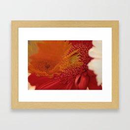 Flower melt Framed Art Print