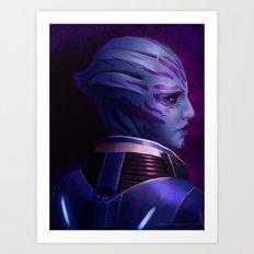 Mass Effect: Tela Vasir Art Print