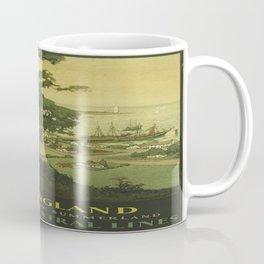 Vintage poster - New England Coffee Mug