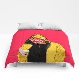bape shark pink Comforters