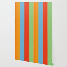 VINTAGE RETRO PATTERN VERTICAL BARS Wallpaper