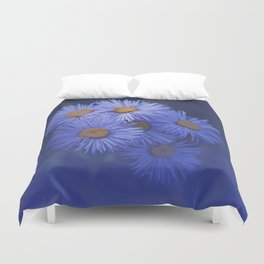 Sunny Asters Duvet Cover