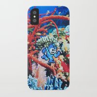 megaman iPhone & iPod Cases featuring Megaman by John Turck