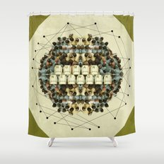 Human Network Shower Curtain