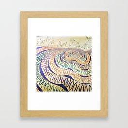 Harmonious Quest Framed Art Print