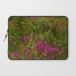 Alaskan Glacier & Fireweed Laptop Sleeve