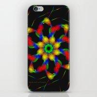 fractal iPhone & iPod Skins featuring Fractal by Marisa Lopez-Cruzan
