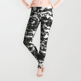batmanvspacman Leggings
