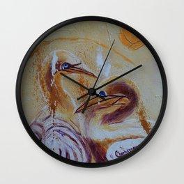 Crazy with Joy   Fou de Joie Wall Clock