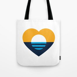 Heart of MKE - People's Flag of Milwaukee Tote Bag