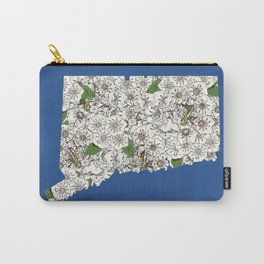 Connecticut in Flowers Carry-All Pouch