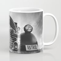 rat Mugs featuring The rat by HappyMelvin