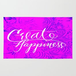 Create Happiness Rug