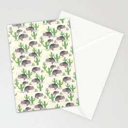 The Armadillos I Stationery Cards