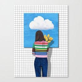 Spring Rain_ver1 Canvas Print