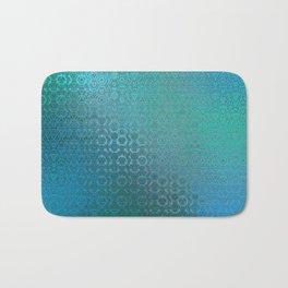 Trinity Pattern (ocean blues) Bath Mat