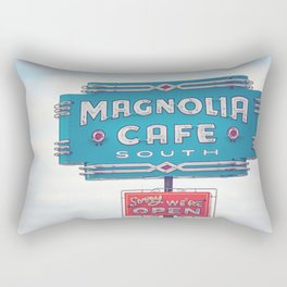 Magnolia Cafe Austin Texas Rectangular Pillow