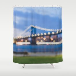 Dreaming in Brooklyn Shower Curtain