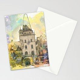 Hotel Tremsbuttel Castle Stationery Cards
