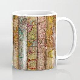 Around the World in Thirteen Maps Coffee Mug